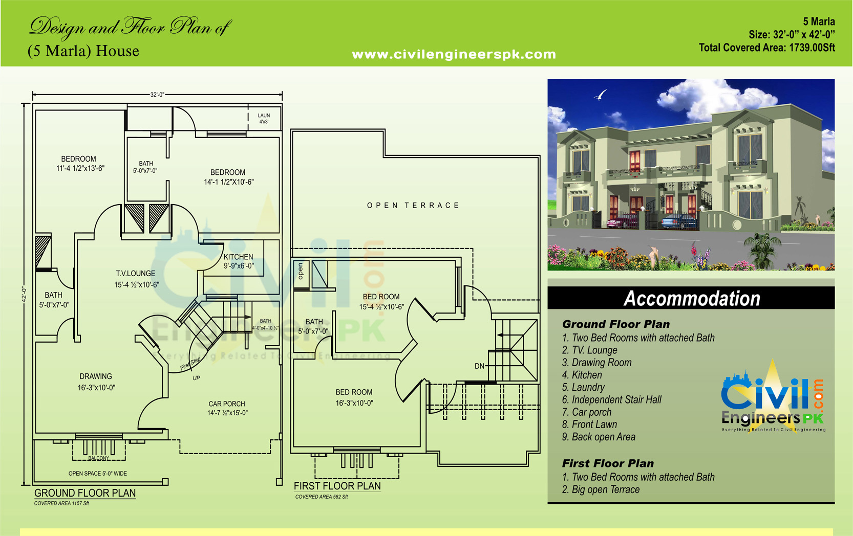 Marla house single storey 5 marla house double storey marla house single storey 5 marla