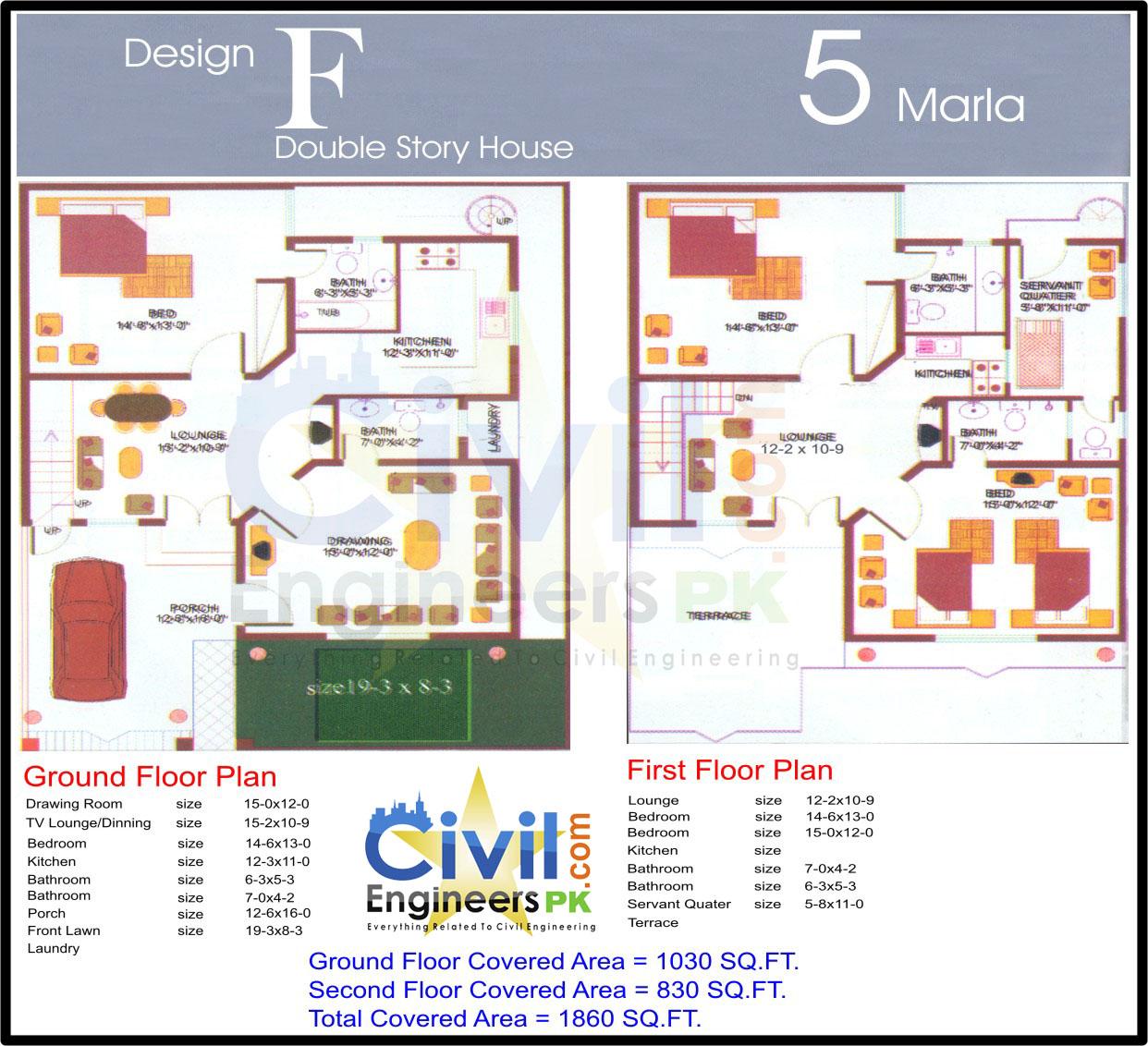 Plans Houses Civil Engineers Pk