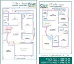 plan 7 marla house