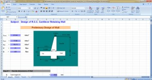New Excel Sheets - Civil Engineers PK
